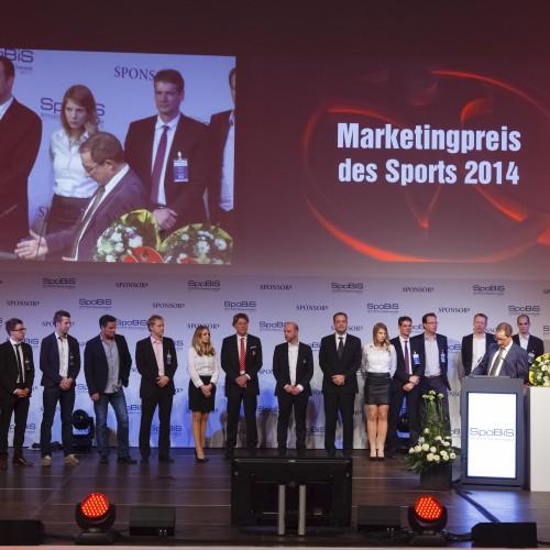 2bdifferent holt sich mit nachhaltigem Sponsoringkonzept Platz 3 beim Marketingpreis des Sports 2014