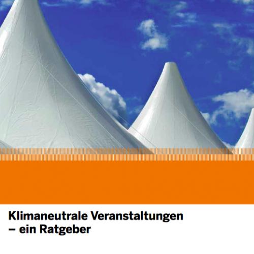 """Neue Broschüre der EnergieAgentur.NRW: """"Klimaneutrale Veranstaltungen"""""""