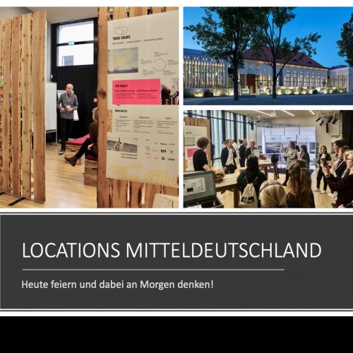 LOCATIONS MITTELDEUTSCHLAND – heute feiern und dabei an Morgen denken!